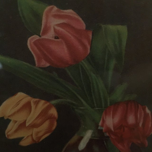 """Tulips in Vase"" Painting - Image 4 of 5"