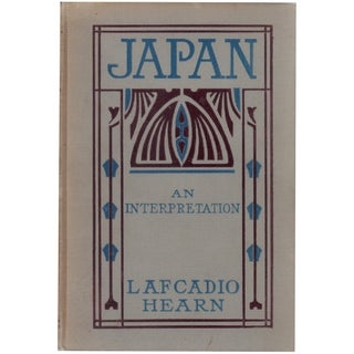 """Japan: An Attempt at Interpretation"" Edwardian Book"