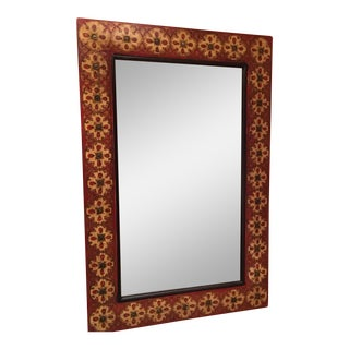 Spanish Style Red Mirror