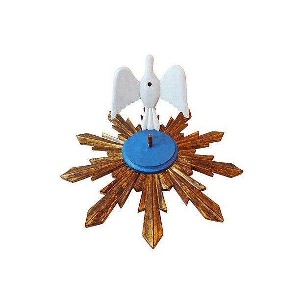 Wooden Dove Sunburst - Image 5 of 7