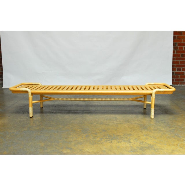 Bassam fellows queen bench daybed for mcguire chairish Daybed bench