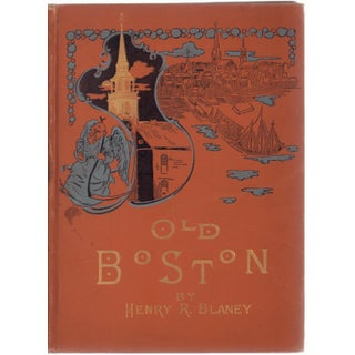 """Old Boston: Reproductions of Etchings"" Victorian Book"