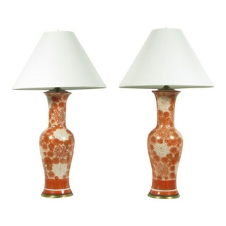 Chinese Import Lamps - A Pair