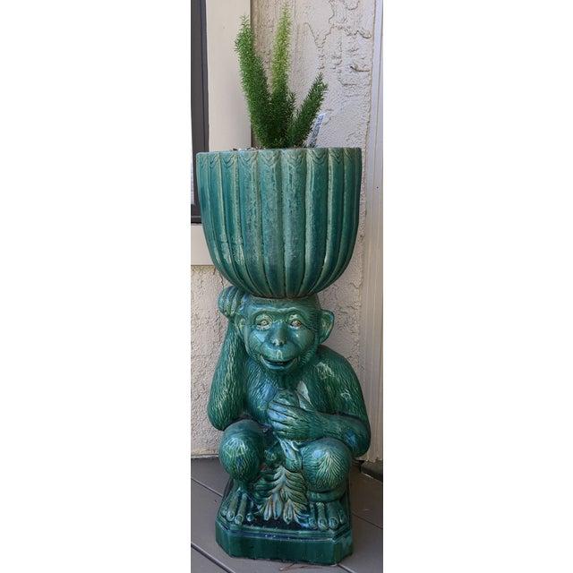Image of Whimsical Monkey Planter