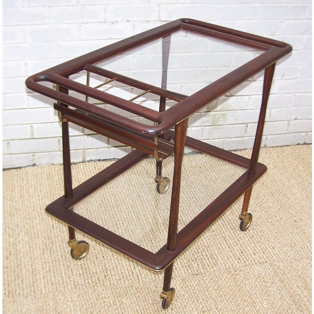 1950s Cesare Lacca Italian Bar Cart - Image 5 of 9
