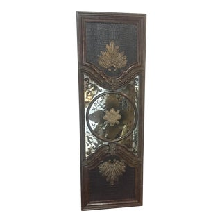 Lam Lee Brass & Leather Mirror