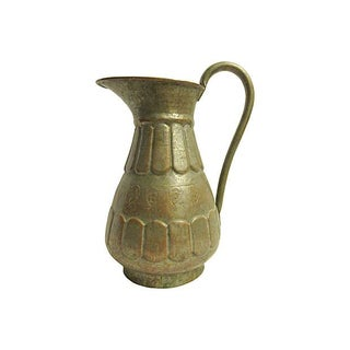 Early 1900s Pewter Pitcher