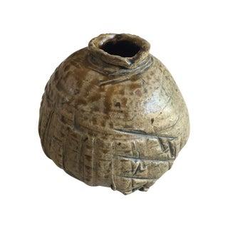 Vintage Brutalist Studio Pottery Vase