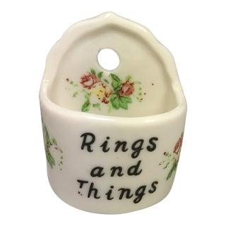 Vintage Rings & Things Dish