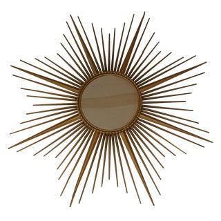 French Vintage Chaty Sunburst Mirror