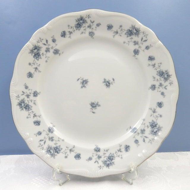 Vintage Mismatched Fine China Dinner Plates - Set of 4 - Image 6 of 8