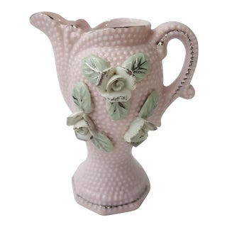 Pink Porcelain Milk Pitcher