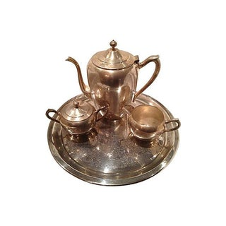 FB Rogers Tea Set - 4 Pcs