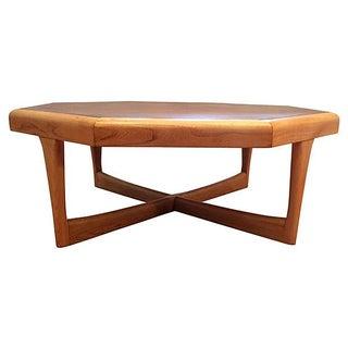 Lane Furniture Octagonal Coffee Table