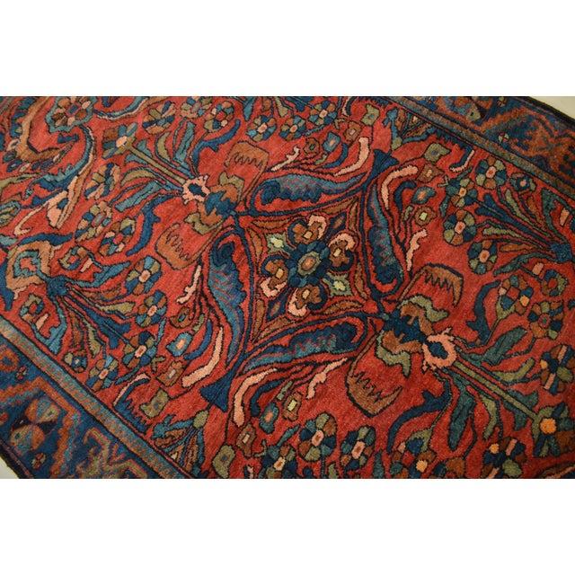 """Antique Persian Lilihan Rug - 5'5"""" x 8'9"""" - Image 4 of 6"""