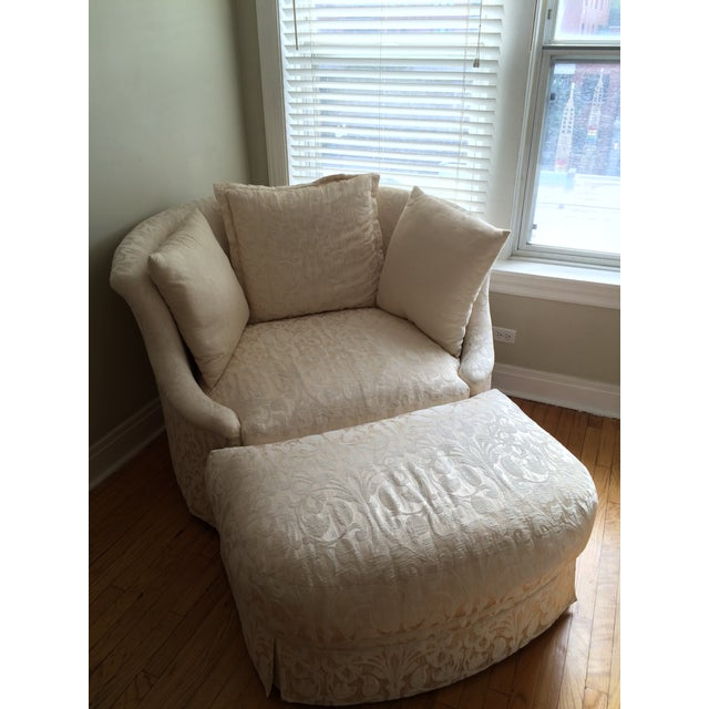 Shelter Chair & Ottoman - Image 3 of 4