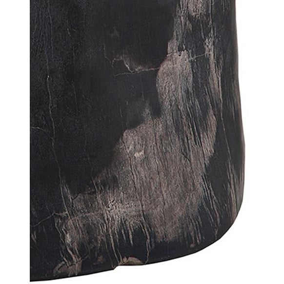 Petrified Wood Side Table - Image 2 of 2