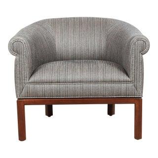 Pair of Barrel Back Chairs by Jules Heumann for Metropolitan Furniture