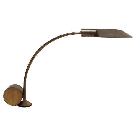 Image of Cedric Hartman Counterweighted Brass Table Lamp