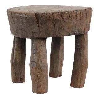Vintage Senufo Wood Stool