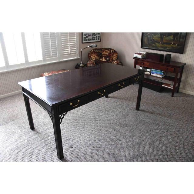 Bernhardt Mahogany Desk Chairish