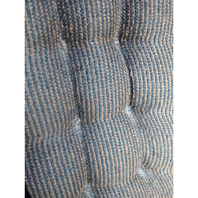Mid-Century Modern Tufted Brown Club Chair - Image 7 of 9