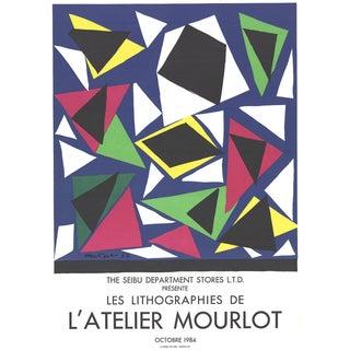 """1984 Henri Matisse """"Centenial, Exposition d' Affiches, Papiers Decoupes"""" Poster"""
