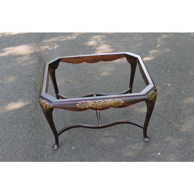 Image of Hand Painted Tray Top Coffee Table