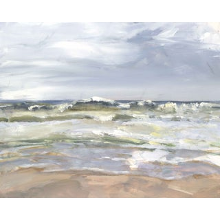 Oil Painting - Rush to Shore