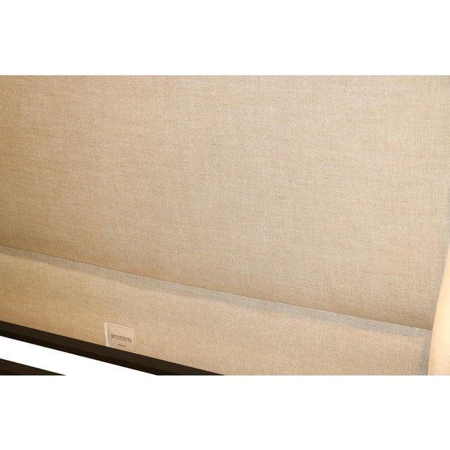 Restoration Hardware Warner Fabric King Bed - Image 7 of 10