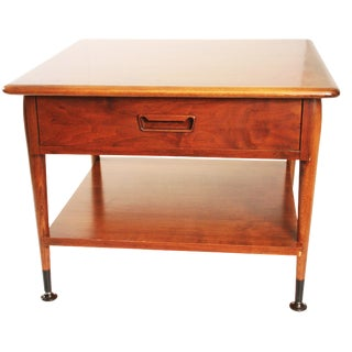Lane Acclaim Mid-Century Wood Accent Table With Drawer