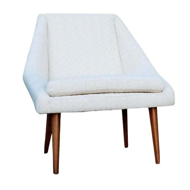 """Berkley"" Cream Lounge Chair - Image 1 of 4"