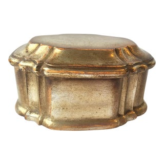 Borghese Box With Silver Painted Finish