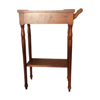 Rare High Top Auxiliar Side Table