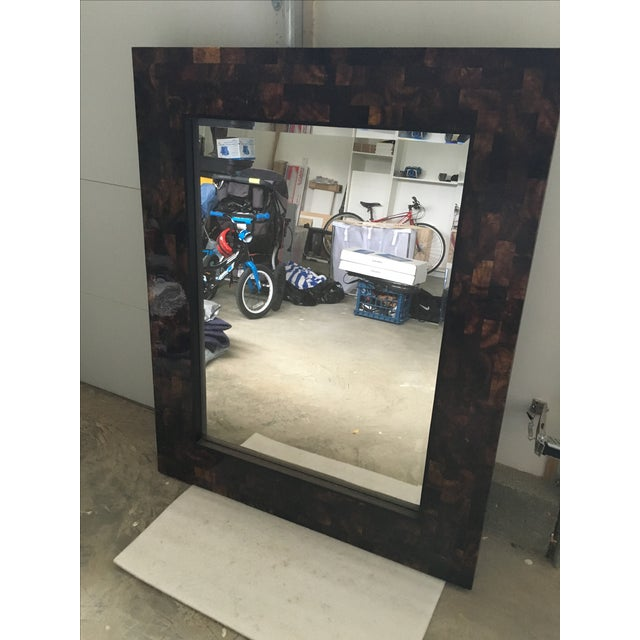 Large Crate And Barrel Mirror Chairish