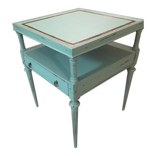 Vintage 1950's Two Step Side Table