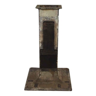 Antique Iron Machinery Base