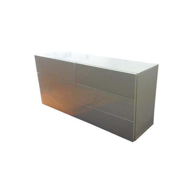 Aurora Modern High Gloss Dresser - Image 1 of 3