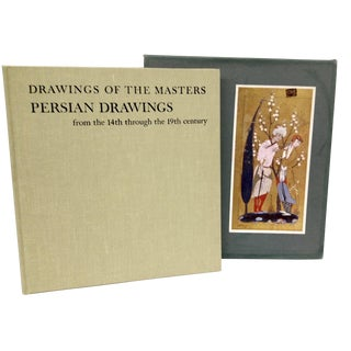 "1965 ""Persian Drawings"" Vintage Book"