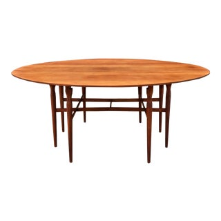 Mid-Century Drop Leaf Dining Table
