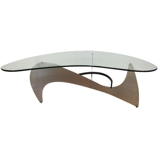 Steel & Glass Coffee Table - Image 1 of 10