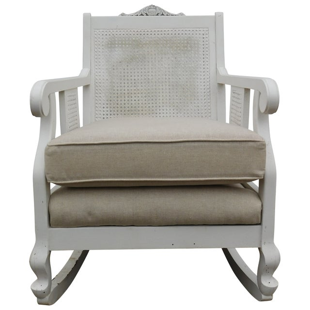 Vintage Cane Rocking Chair - Image 2 of 7