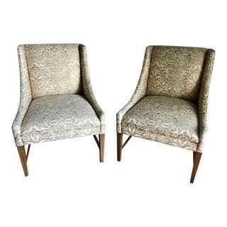 A. Rudin Accent Chairs - A Pair