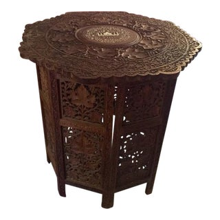 Indian Taj Mahal Inlaid Table
