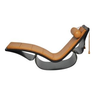 "Original ""Rio"" Rocking Chaise by Oscar Niemeyer"