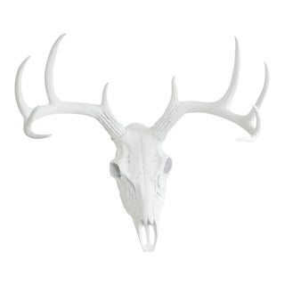 Large Faux Deer Skull Animal Head by Wall Charmers