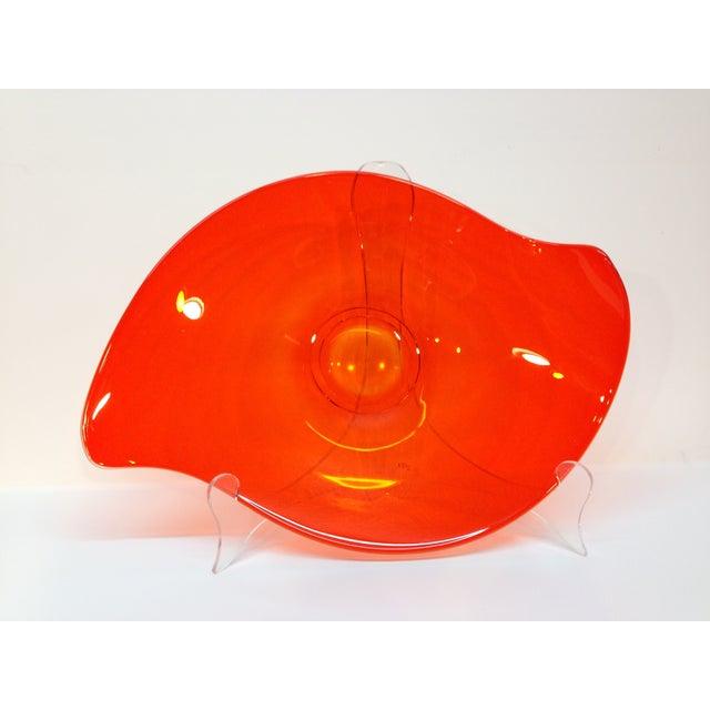 """Viking """"Epic"""" Orange Console Bowl - Image 2 of 4"""