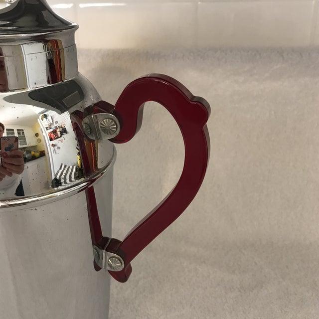 Vintage Chrome Cocktail Shaker - Image 3 of 10