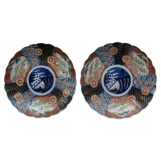 Japanese Imari Chargers - A Pair