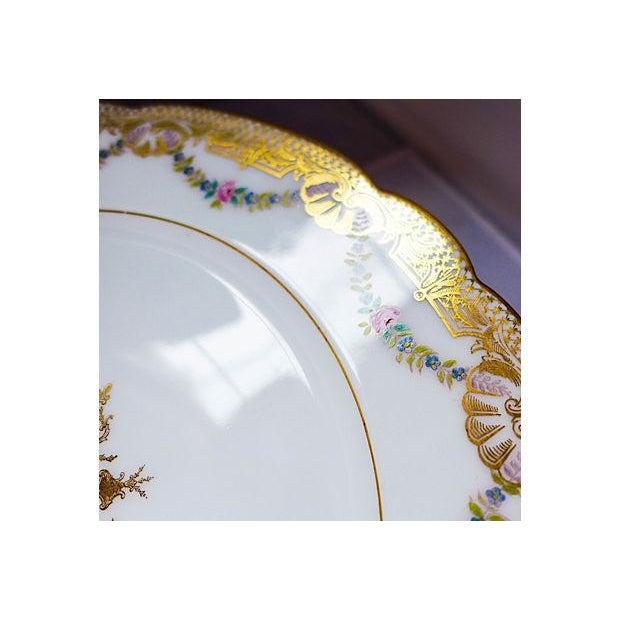 Vintage Fabrique en France Plates - Set of 12 - Image 5 of 8